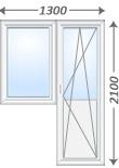 Пластиковые балконные двери и блоки veka из пвх на заказ, це.