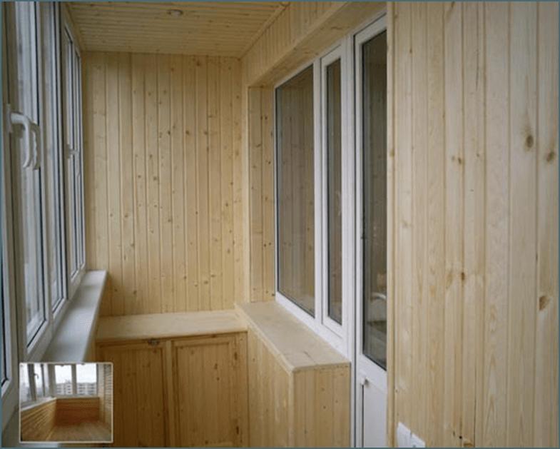 Отделка балкона вагонкой видео.